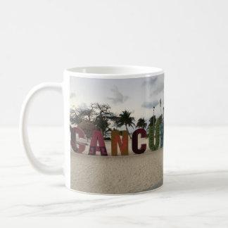 Signe de Cancun - Playa Delfines, tasse du Mexique
