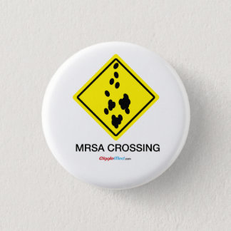 Signe de croisement de MRSA Badge