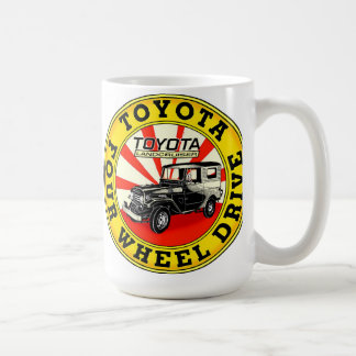Signe de croiseur de terre de Toyota Mug