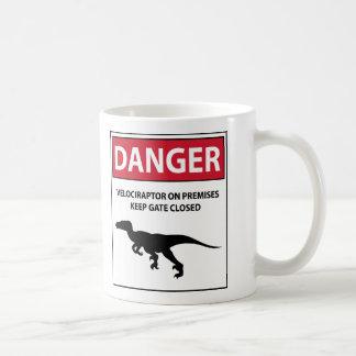 Signe de danger (Raptors) Mug