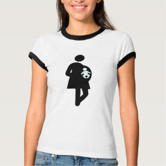 Signe de femme enceinte t-shirts