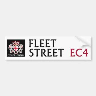 Signe de Fleet Street Autocollant Pour Voiture