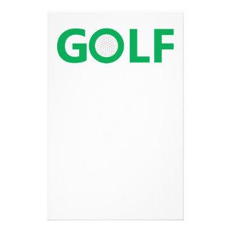 Signe de golf prospectus 14 cm x 21,6 cm