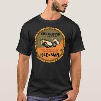 Signe de Grand prix de moto d'île de Man T-shirt