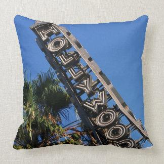 Signe de Hollywood, Los Angeles, la Californie Coussins Carrés