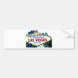 Signe de Las Vegas Autocollant De Voiture