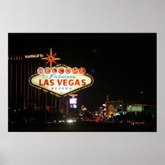 Signe de Las Vegas Posters
