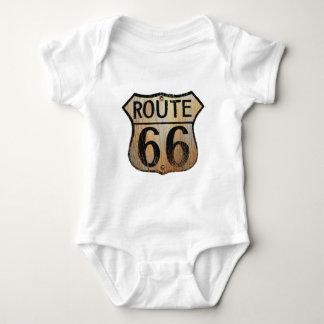 Signe de l'itinéraire 66 - produits multiples t-shirts