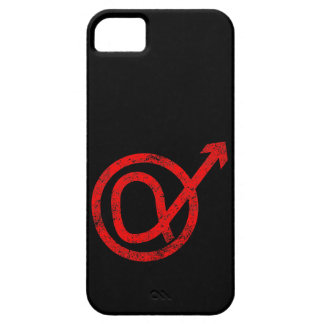 Signe de mâle alpha coques iPhone 5