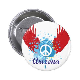 Signe de paix de l'Arizona Badge