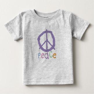 Signe de paix de l'enfant t-shirt pour bébé