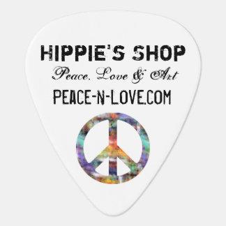 Signe de paix promotionnel de valeur du magasin de onglet de guitare