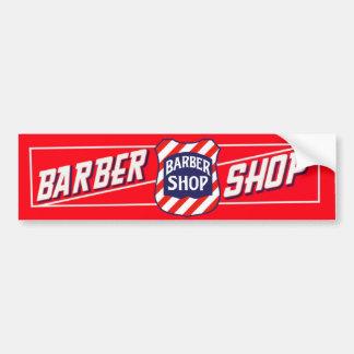 Signe de raseur-coiffeur autocollant pour voiture