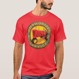 Signe de service de tracteurs de Massey Harris T-shirt