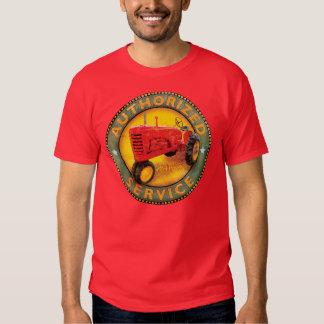 Signe de service de tracteurs de Massey Harris T-shirts