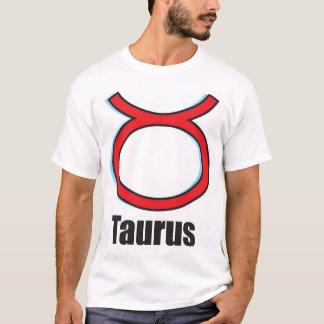 Signe de zodiaque de Taureau T-shirt