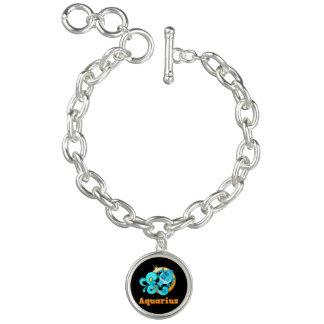 Signe de zodiaque de Verseau Bracelet