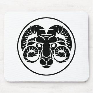 Signe de zodiaque d'horoscope de Bélier Tapis De Souris