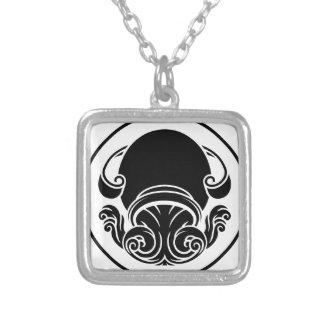Signe d'horoscope de zodiaque de Verseau Collier