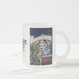 Signe d'île de trésor mug en verre givré