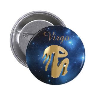 Signe d'or de Vierge Badge