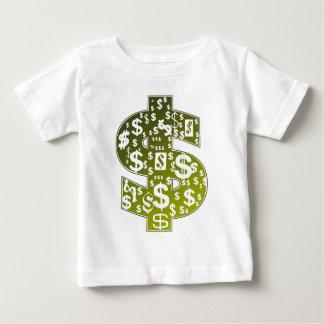 Signe du dollar t-shirt pour bébé