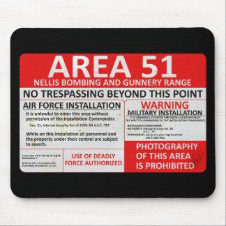 Signe du secteur 51 tapis de souris