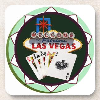 Signe et les deux Rois jeton de poker de Las Vegas Sous-bock