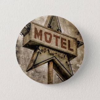 Signe grunge vintage de motel d'étoile badge