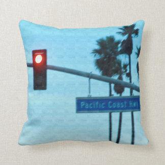 Signe | Huntington Beach CA de la route 1 de Côte Oreiller