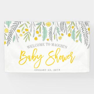Signe neutre de bannière de signe de baby shower