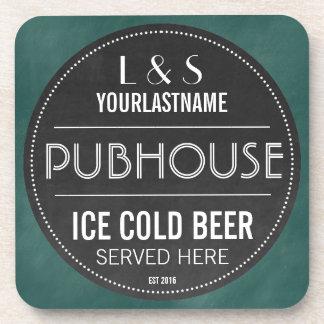 Signe personnalisé drôle de tableau de Pubhouse Dessous-de-verre