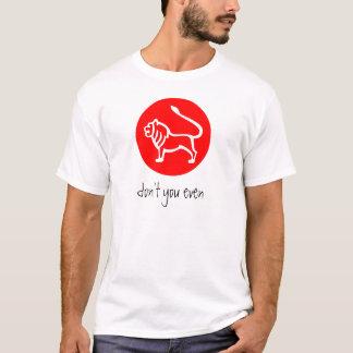 Signe T de zodiaque de Lion T-shirt