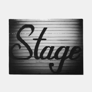 """Signe vintage de """"étape"""" paillasson"""