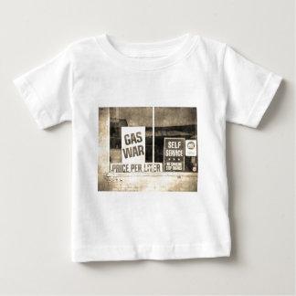 Signe vintage de guerre de gaz t-shirts