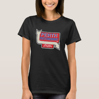 Signe vintage du restaurant 1960 de Perth T-shirt