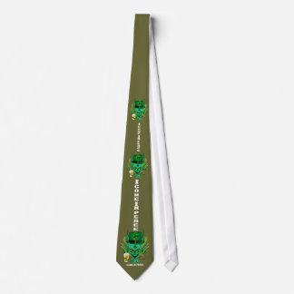 Signes de vue des styles de Patrick de saint tous  Cravate Personnalisable