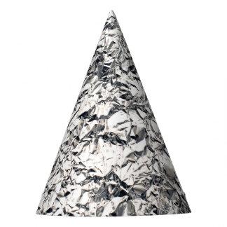 Signes étrangers drôles de papier d'aluminium en chapeaux de fètes