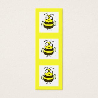 Signet d'abeille mini carte de visite