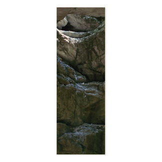 Signet de grotte carte de visite petit format