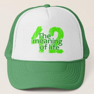 Signification 42 de casquette de la vie