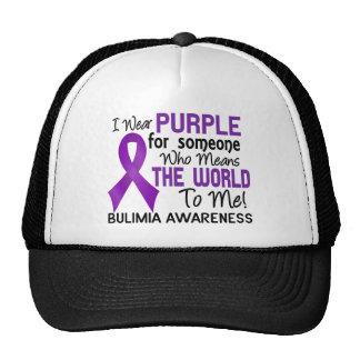 Signifie le monde à moi la boulimie 2 casquettes