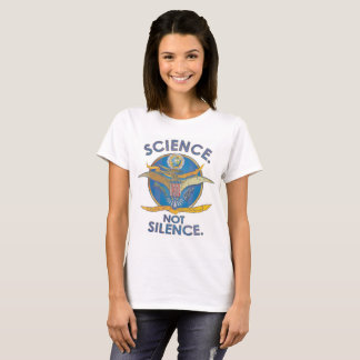 Silence de Science.Not. T-shirt