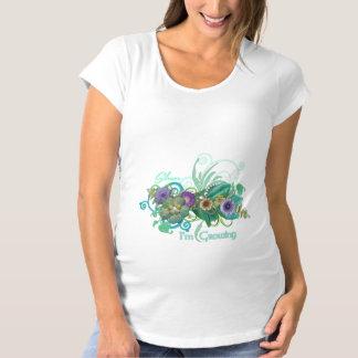 Silence I'm Growing T-Shirt De Maternité