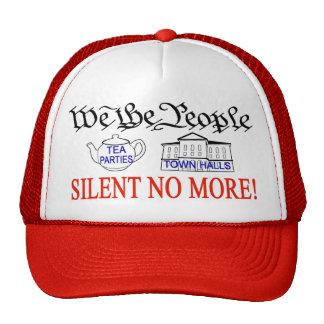 Silencieux pas plus ! casquette