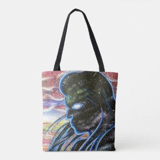 Silhouette crépusculaire sac