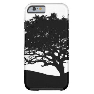 Silhouette d'arbre coque tough iPhone 6