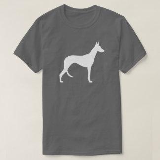 Silhouette de chien d'Ibizan T-shirt