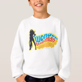 Silhouette de femme de merveille sweatshirt