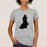 Silhouette de flamenco t-shirt